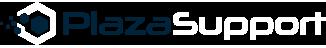 PlazaSupport logo donker